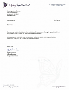 Cleaned Up Flying Unlimited Testimonial